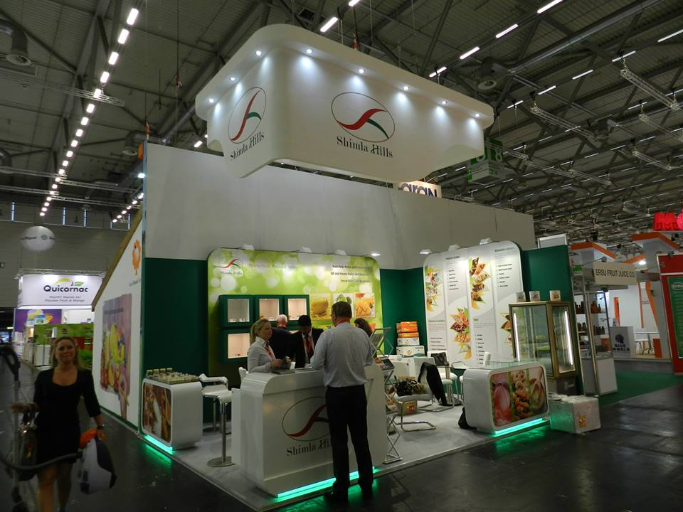 Shimla Hills At The Largest & Most Important Food Trade Show In The World
