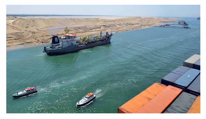 Hopes abound as Suez Canal expands for global trade!