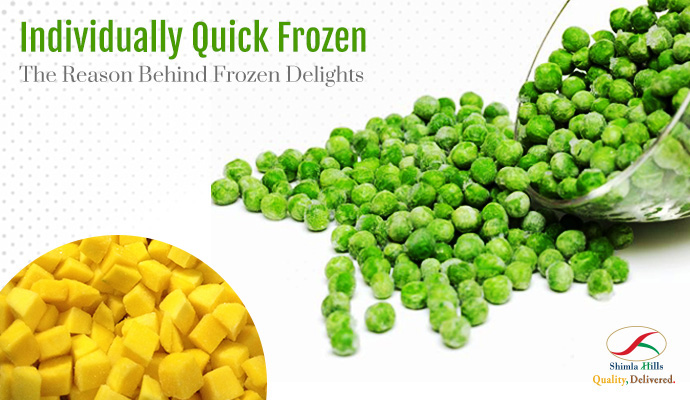 IQF Fruits and Vegetables: Frozen Delights by Shimla Hills
