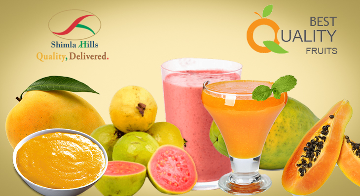 How Fruit Pulp & Puree Becoming Heavily Sought-after in Modern Food & Beverages Industry.
